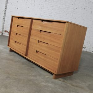 Vintage Mid Century Modern Dresser & Mirror by Milo Baughman for Drexel Today's Living Line