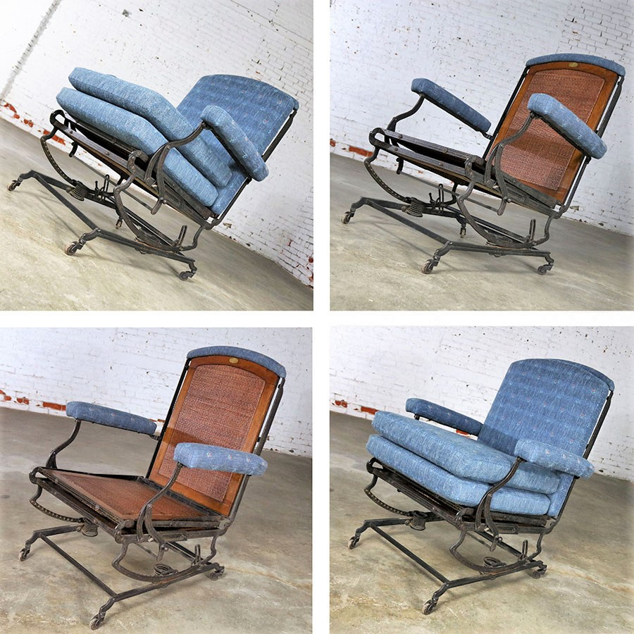 Marks Adjustable Folding Chair Company Campaign Style Invalid Deck Chair